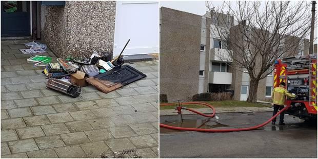 Charleroi: Une dame brûlée aux mains - La DH