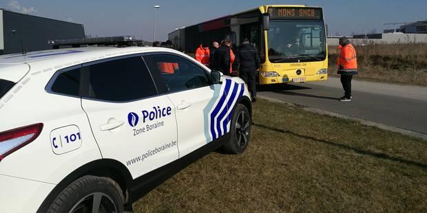 Opération conjointe entre la zone de police boraine et les TEC - La DH