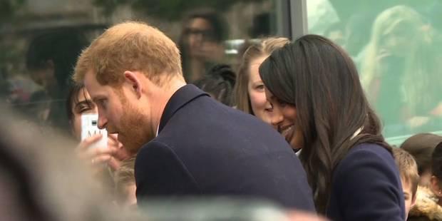 Le prince Harry et Meghan en visite à Birmingham - La DH