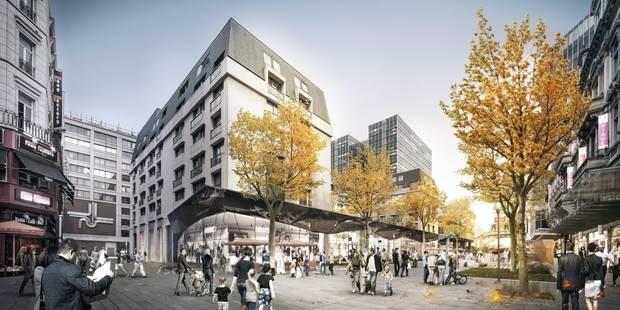 Voici où Burger King ouvrira sa première enseigne dans le centre de Bruxelles - La DH