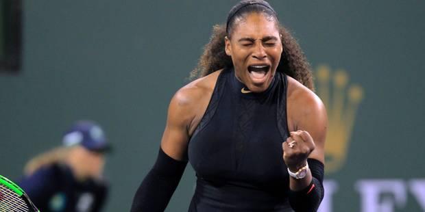 Retour gagnant pour Serena Williams à Indian Wells - La DH