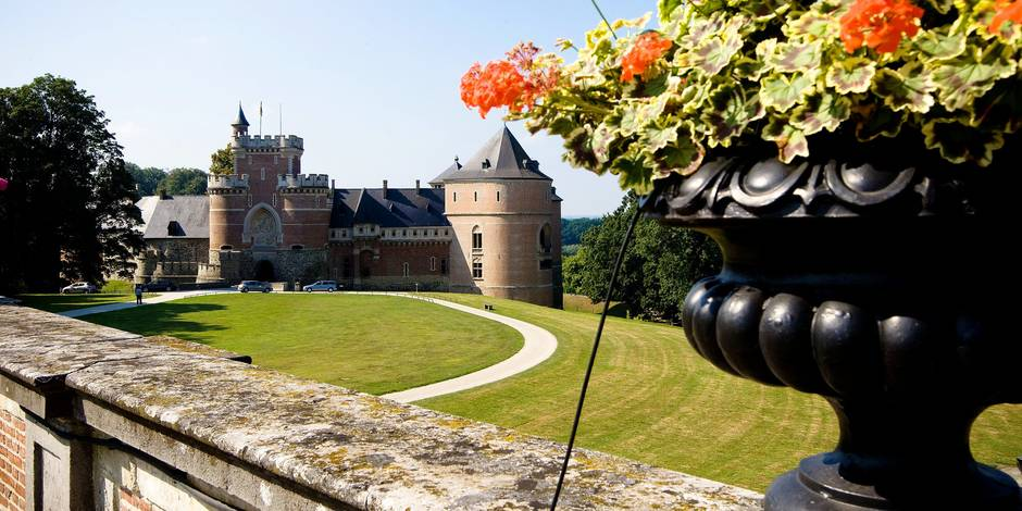 Photo Olivier Pirard , Tourisme , ville de Gaasbeek , Jardin Musee