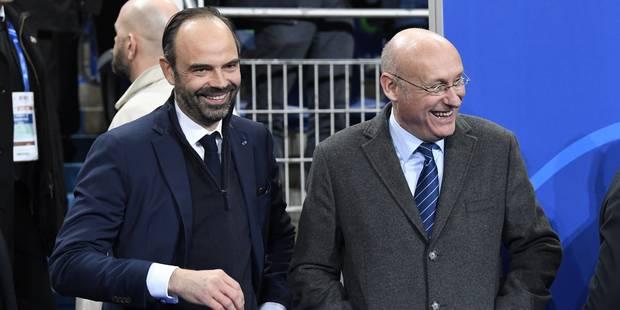 Le gros lapsus d'Edouard Philippe devant le gratin du rugby français - La DH