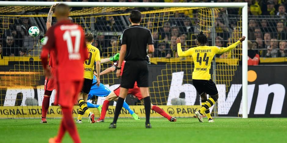 Batshuayi plante un doublé et sauve Dortmund — Joker de luxe