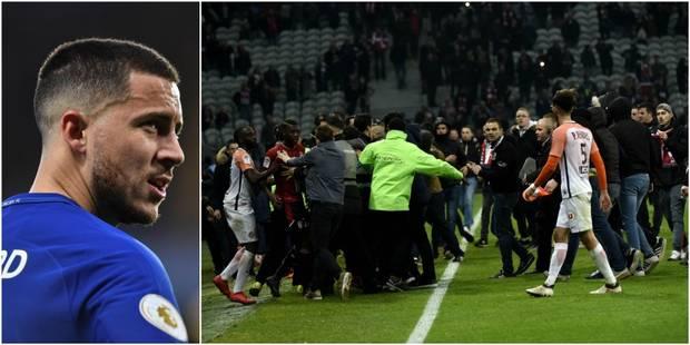 Lille risque gros après les débordements de samedi, Eden Hazard calme le jeu - La DH