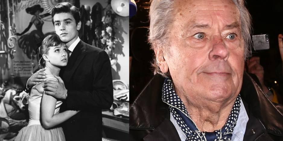 Alain Delon en 1957 dans Quand la femme s'en mêle. Il avait 22 ans. Il en a 60 de plus aujourd'hui.