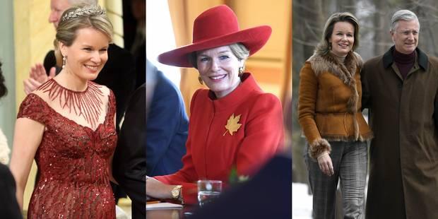La Reine Mathilde, leçon de style au Canada (PHOTOS) - La DH