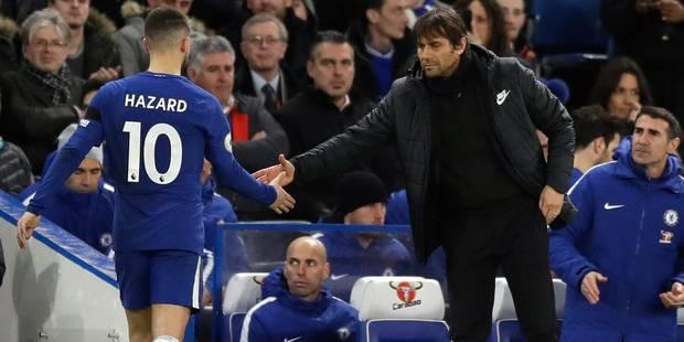 Barcelone - Chelsea: Conte lance une pique à l'attention d'Hazard en conférence de presse - La DH