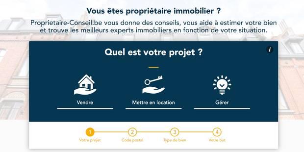 """""""Propriétaire-conseil.be"""", un site dédié aux propriétaires de biens en Belgique - La DH"""