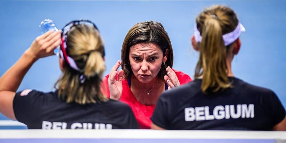 Dominique Monami n'est plus la capitaine de l'équipe belge de Fed Cup