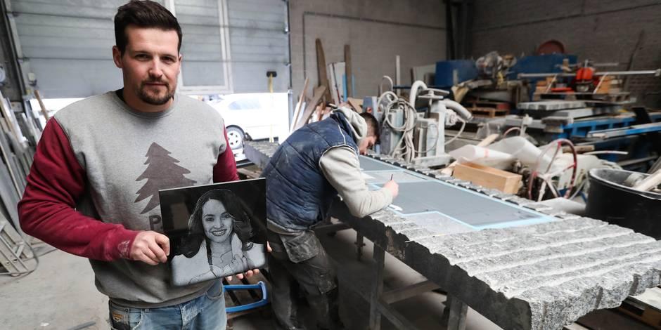 molenbeek Attentat de Bruxelles: une stèle en hommage à Loubna Lafquiri
