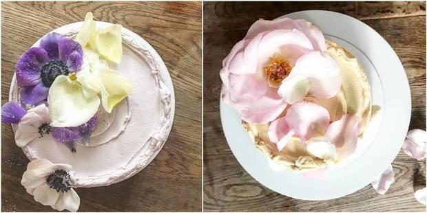 Meghan Markle et le prince Harry ont opté pour un gâteau de mariage bio et floral - La DH