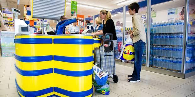 """Lidl """"veut montrer l'exemple"""" en supprimant les sacs plastique aux caisses - La DH"""