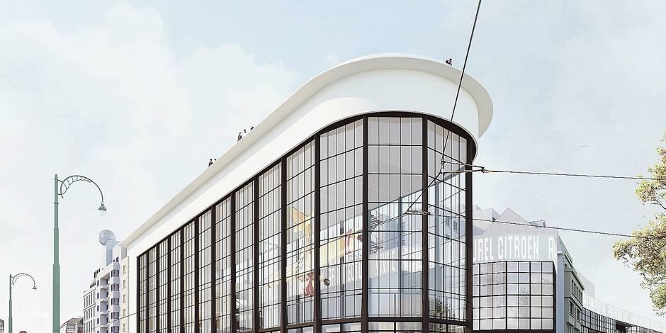 Bruxelles: Le Kanal-Centre Pompidou dévoilé