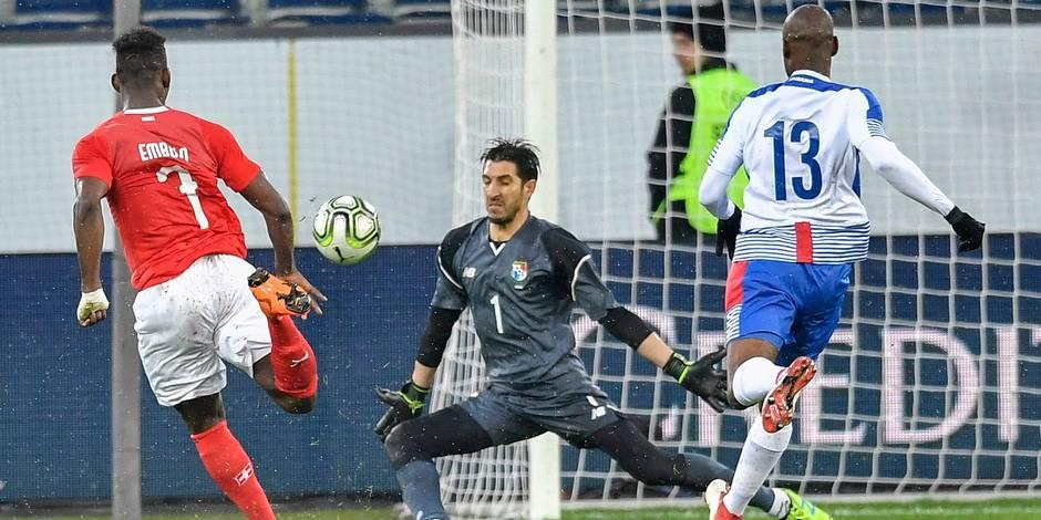 Le Panama, adversaire des Belges à la Coupe du Monde, humilié face à la Suisse