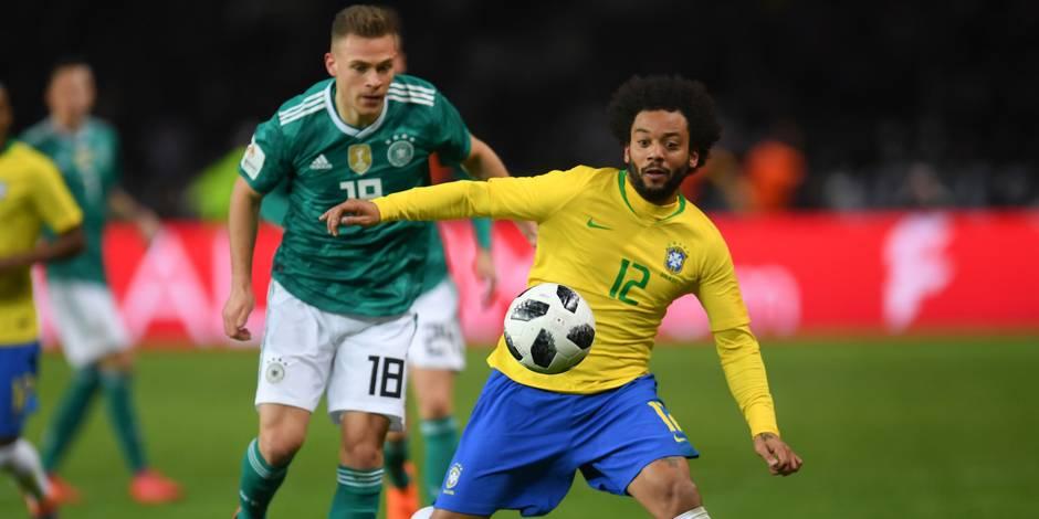 Le Brésil écarte l'Allemagne et éloigne le fantôme de 2014 (0-1)