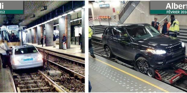 Six véhicules sur les rails du prémétro depuis 2015 - La DH