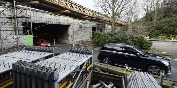 Le chantier du tunnel Reyers a pris deux semaines de retard - La DH