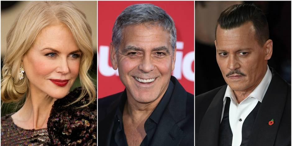 George Clooney, Nicole Kidman, Johnny Depp... Les stars nous racontent leurs meilleurs poissons d'avril