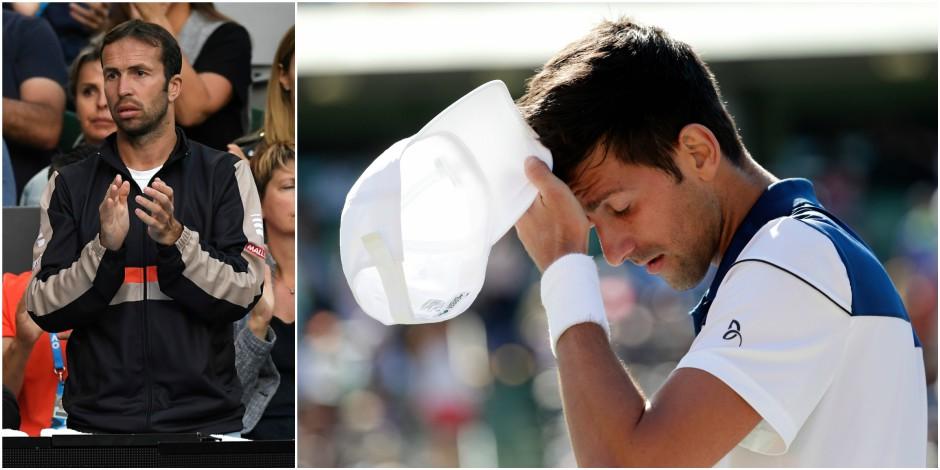 Novak Djokovic et son entraîneur Radek Stepanek se séparent