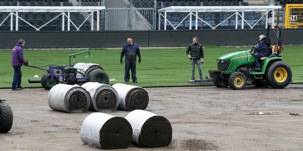 Neuf chances sur dix que la pelouse soit prête pour Charleroi-Anderlecht - La DH