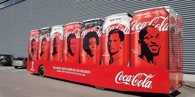 CONCOURS: remportez des packs collector Coca-Cola et des maillots des Diables rouges ! - La DH