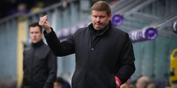 Hein Vanhaebrouck se pose des questions avant Charleroi-Anderlecht - La DH