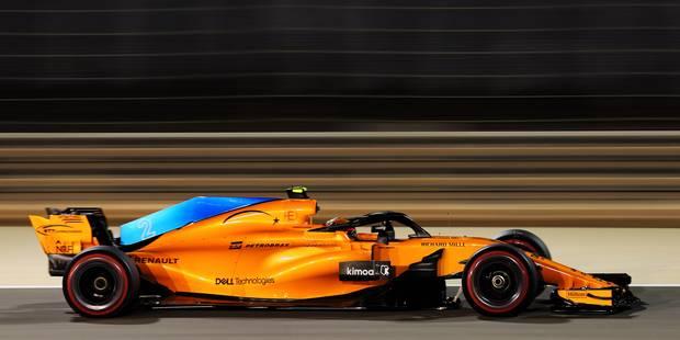 GP du Bahreïn: Stoffel Vandoorne 14e des qualifications, Vettel en pole position - La DH