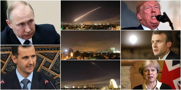 Opération militaire occidentale en Syrie: la Russie convoque une réunion d'urgence du Conseil de sécurité de l'ONU - La ...