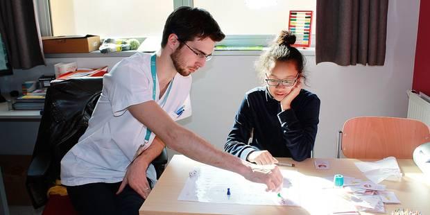 Charleroi: Une école à l'hôpital - La DH
