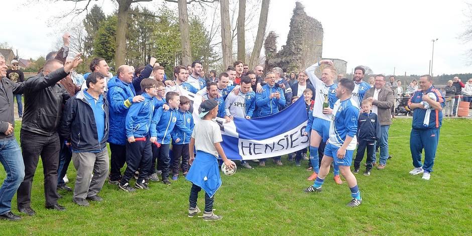 Football: Hensies, champion, remonte en P3