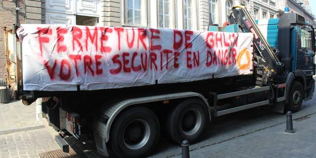 Le coup de gueule des volontaires de la Protection civile de Ghlin (PHOTOS + VIDEO) - La DH
