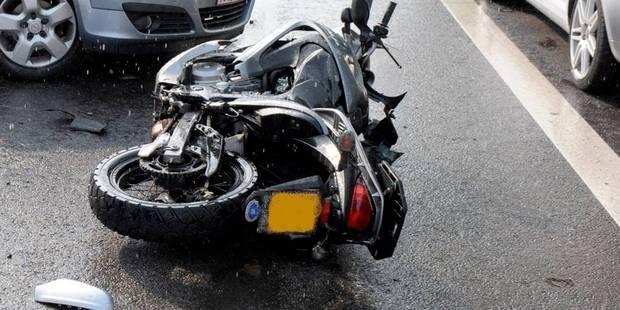 Villers-le-Bouillet : un motard sérieusement blessé dans un accident - La DH