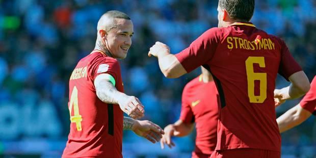 Serie A: l'AS Rome maintient le cap, à trois jours d'affronter Liverpool - La DH