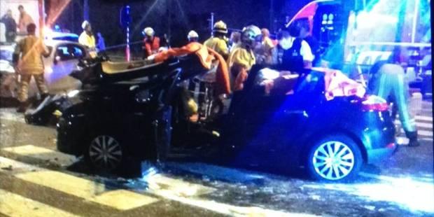 Gros crash sur le boulevard Lambermont - La DH