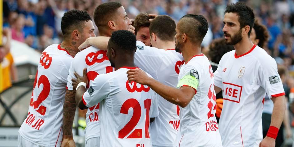 Le Standard arrache un point dans un match complètement fou à Bruges (4-4)